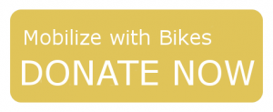 Donate Now - Mobilize with Bikes