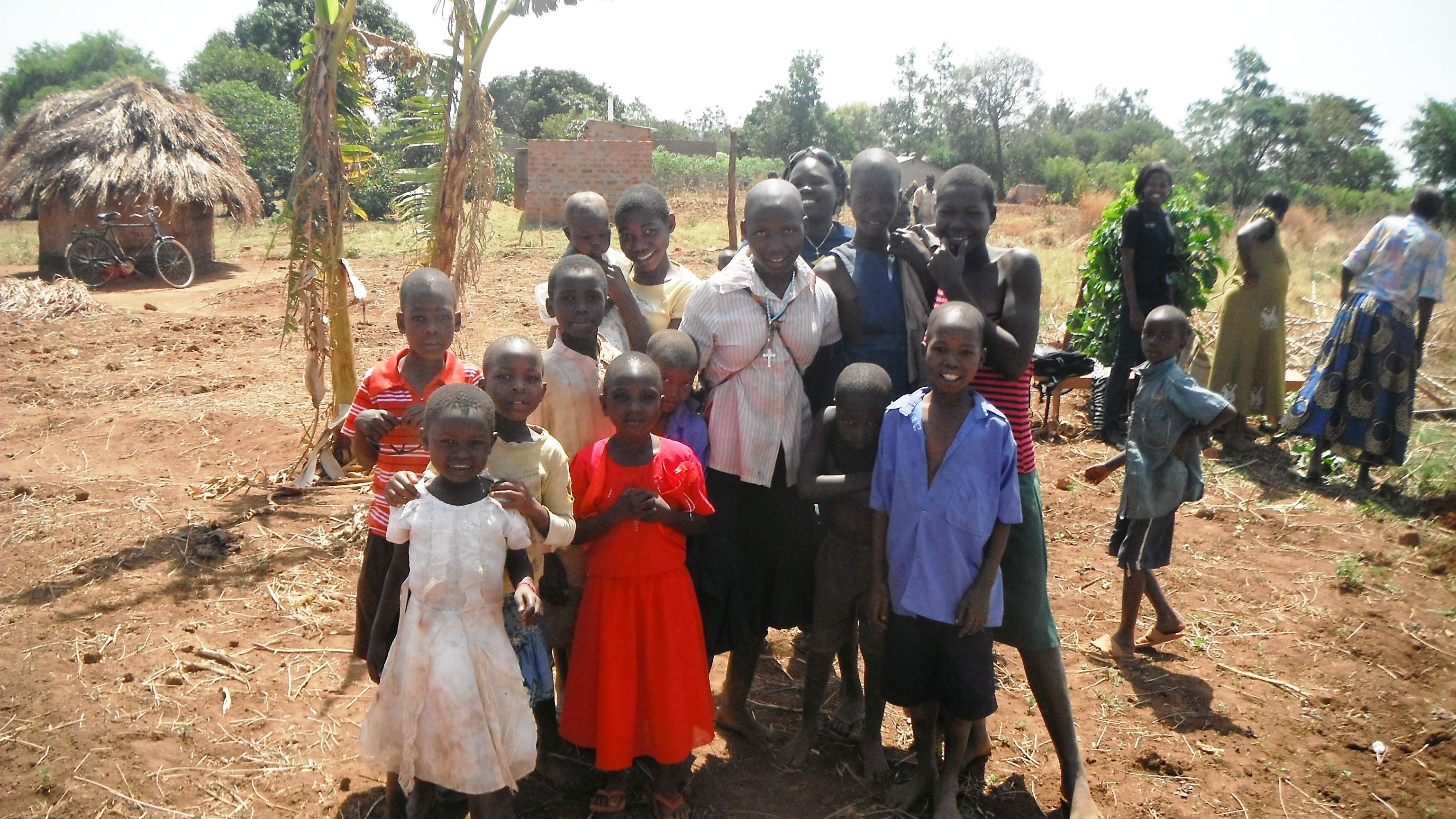 Children at CAPAIDS-Uganda Home of Hope