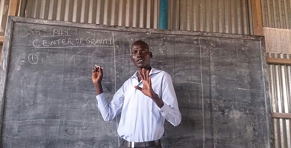 Gua Africa teacher
