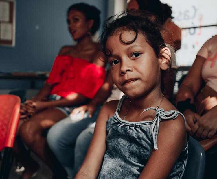 Help children to return school